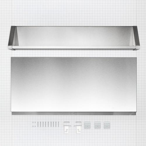 """Maytag - Tall Backguard with Dual Position Shelf - for 48"""" Range or Cooktop"""