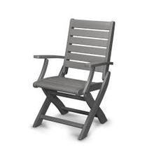 View Product - Signature Folding Chair in Slate Grey