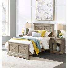 Mountain Lodge Twin Headboard & Night Stand