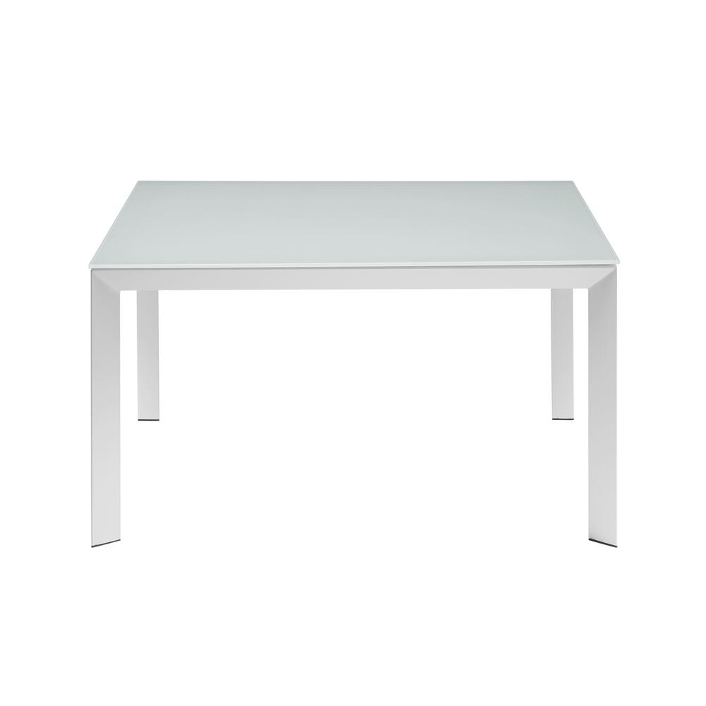 The Naples White / White Glass Dining Tables