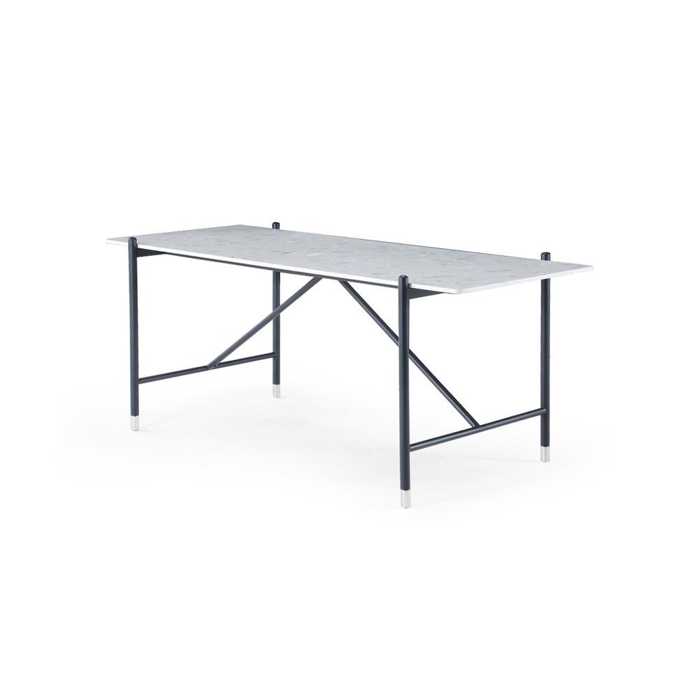 Mona Desk-white Terrazzo