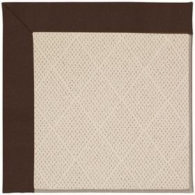 "Creative Concepts-White Wicker Canvas Bay Brown - Rectangle - 24"" x 36"""