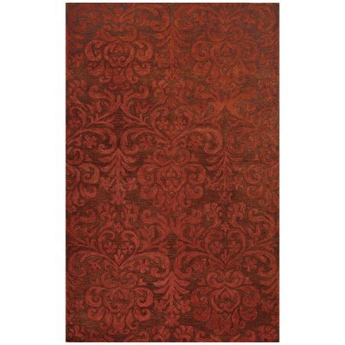 Filigree Persimmon - Rectangle - 5' x 8'