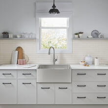 See Details - Avery 30 x 20 Single Bowl Apron Kitchen Sink  American Standard - Stainless Steel