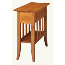View Product - Chairside Table with Shelf