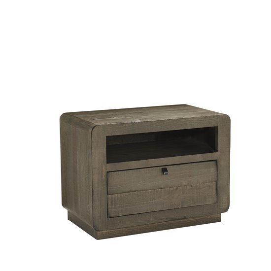 Nightstand - Mocha Finish