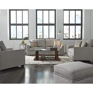 Sofa - Shown in 109-05 Gray Microfiber Finish