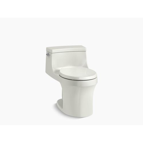 Dune One-piece Round-front 1.28 Gpf Toilet With Slow Close Seat