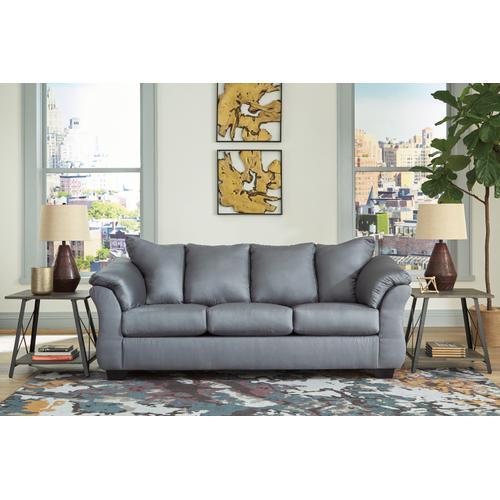 Darcy Sofa & Loveseat Steel