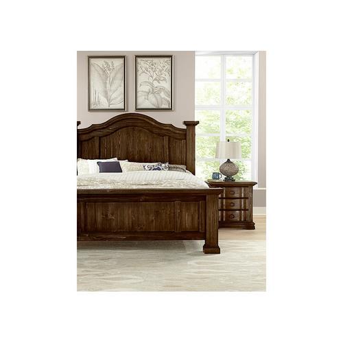 Vaughan-Bassett - King Poster Bed