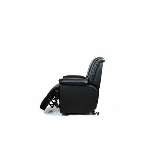 ACME Reseda Recliner w/Power Lift & Massage - 10650 - Black PU