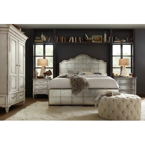 Hooker Furniture - Arabella 6/0-6/6 Mirrored Panel Headboard