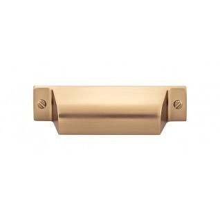 Channing Cup Pull 2 3/4 Inch (c-c) - Honey Bronze