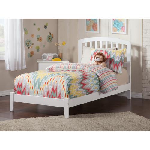 Atlantic Furniture - Richmond Twin XL Bed in White