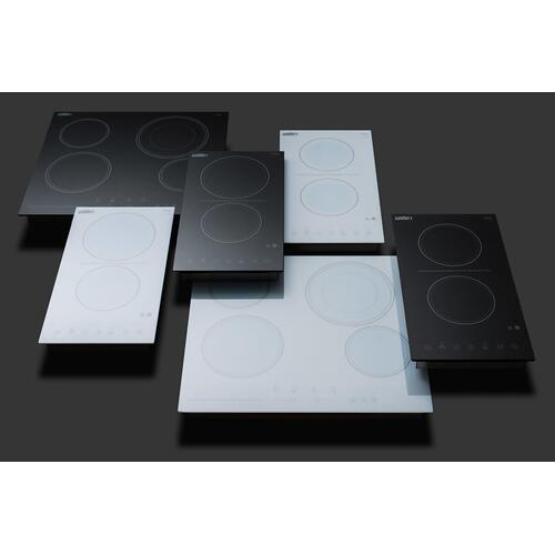 230v 2-burner Cooktop In Black Ceramic Schott Glass With Digital Touch Controls, 3000w