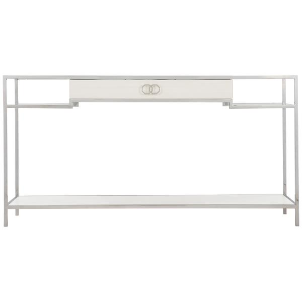 Silhouette Console Table in Eggshell (307)