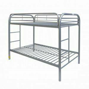 ACME Thomas Twin/Twin Bunk Bed - 02188SI - Silver