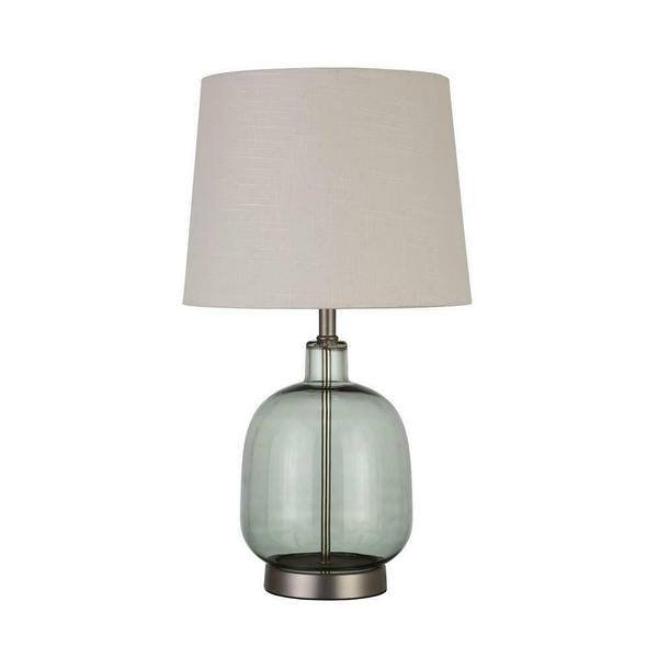 Transitional Green Table Lamp