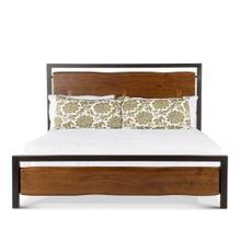 Aspen King Bed Walnut