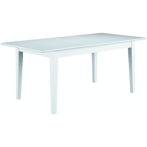 Extension Table in Pure White