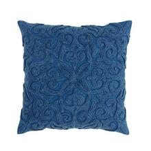 See Details - Twila Pillow Cover Blue
