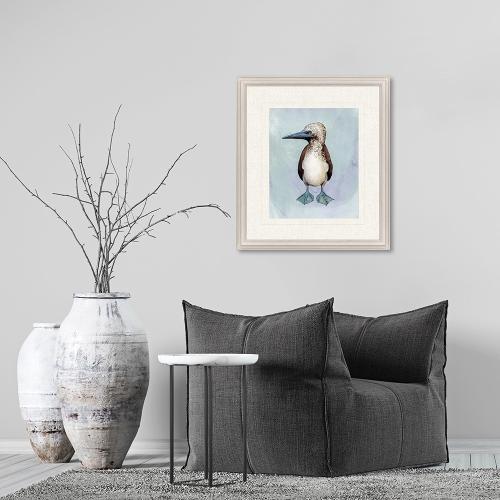 Watercolor Beach Bird I