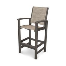 View Product - Coastal Bar Chair in Vintage Coffee / Onyx Sling