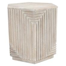 "25"" Octagonal Side Table"