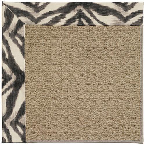 """Creative Concepts-Raffia Tigress Zinc - Rectangle - 24"""" x 36"""""""