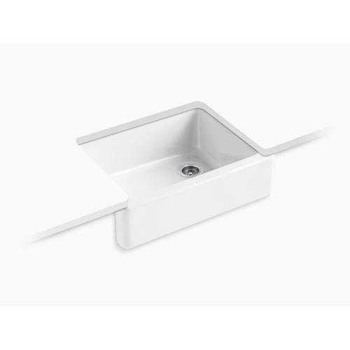"Black Plum 29-11/16"" X 21-9/16"" X 9-5/8"" Undermount Single-bowl Farmhouse Kitchen Sink"