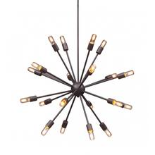 Sapphire Ceiling Lamp Large Rust