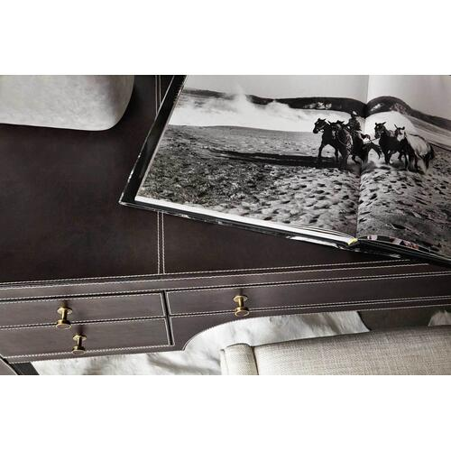 Bernhardt - Clarendon Leather Wrapped Desk