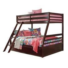 Halanton - Dark Brown 3 Piece Bunk Bed