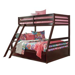 Halanton Twin/Full Bunk Bed w/ Under Bed Storage