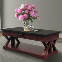 Product Image - AMERICANA MODERN - CRANBERRY Cocktail Table