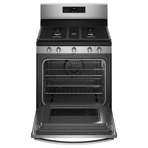 Gallery - 5.0 cu. ft. Whirlpool® gas convection oven with Frozen Bake™ technology