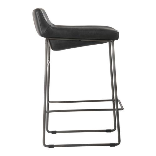 Moe's Home Collection - Starlet Counter Stool Black-m2