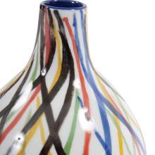 View Product - Color Web Ceramic Bottle Vase