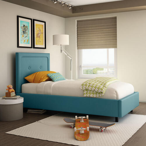 Legend Upholstered Bed - Twin XL