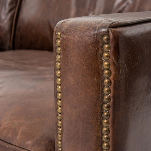 """72"""" Size Cigar Cover Larkin Sofa"""