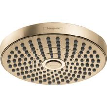 Brushed Bronze Showerhead 180 2-Jet, 1.8 GPM