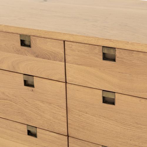 Four Hands - Carlisle 6 Drawer Dresser-natural Oak