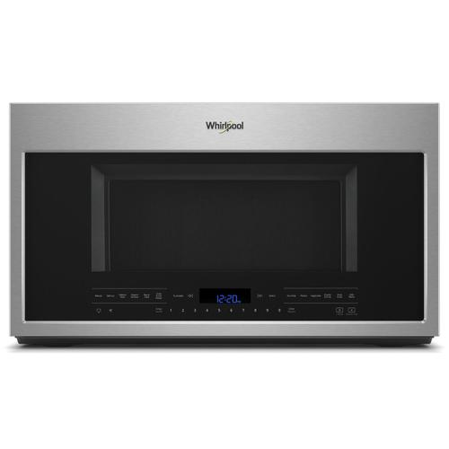 2.1 cu. ft. Over-the-Range Microwave with Steam cooking Fingerprint Resistant Stainless Steel