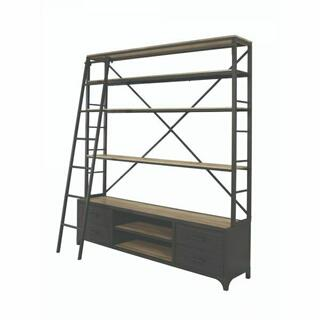 ACME Actaki Bookshelf - 92436 - Sandy Gray