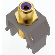 See Details - adorne® Subwoofer RCA to F-Connector
