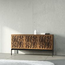 Triple Wide Cabinet W Console Base in Environmental