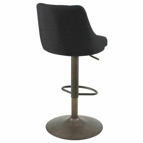 Worldwide Homefurnishings - Adyson Air Lift Stool, set of 2 in Black