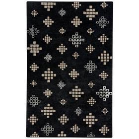 "Glace Black Cream - Rectangle - 3'3"" x 5'3"""