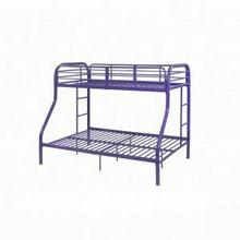 ACME Tritan Twin/Full Bunk Bed - 02043PU - Purple