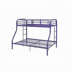 ACME Tritan Twin/Full Bunk Bed - 02043PU - Purple